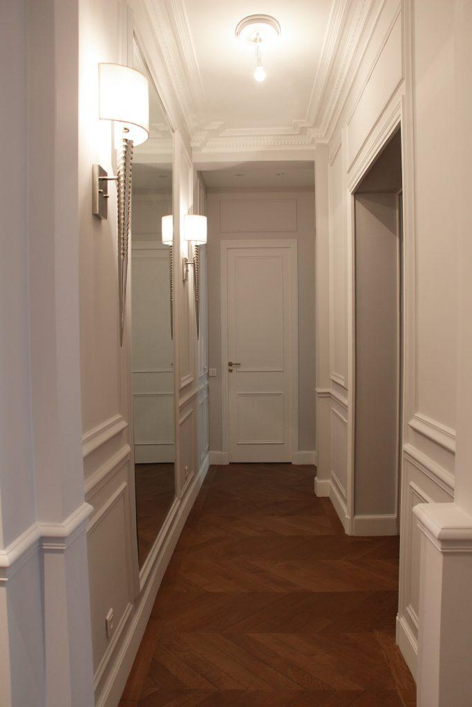 Rénovation couloir d\'appartement - LAZURES